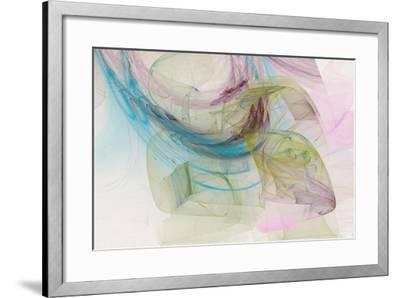 Abstraction 10711-Rica Belna-Framed Giclee Print