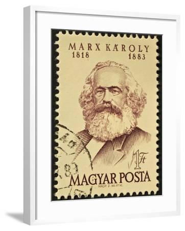 Marx Stamp-marzolino-Framed Art Print