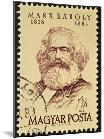 Marx Stamp-marzolino-Mounted Art Print