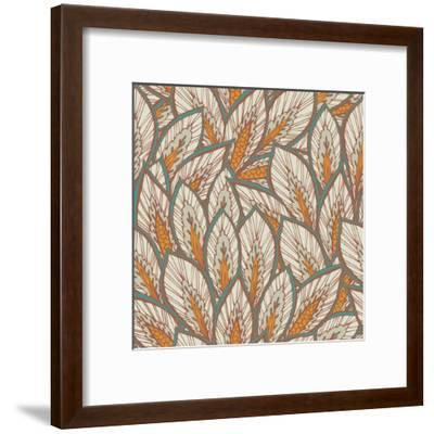 Eastern Pattern.-veraholera-Framed Art Print