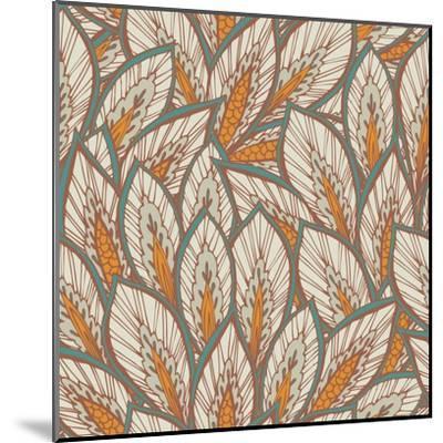 Eastern Pattern.-veraholera-Mounted Art Print