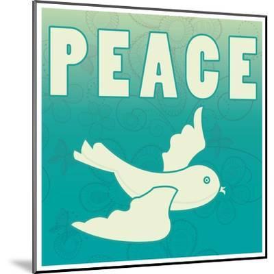 Peace-larJoka-Mounted Art Print