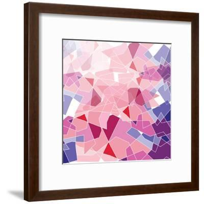 Geometric Background-ApichartMeesri-Framed Art Print