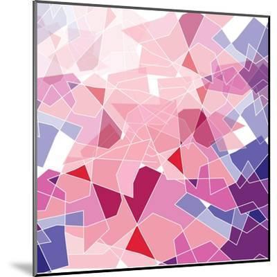 Geometric Background-ApichartMeesri-Mounted Art Print