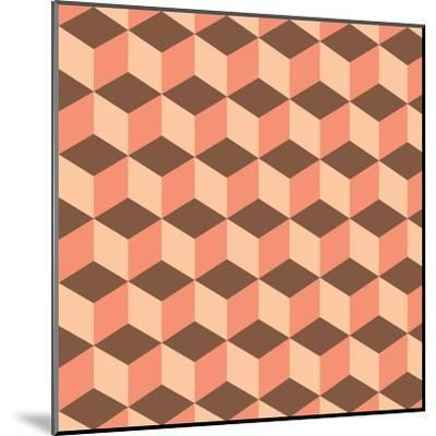 Geometric Background-AnaMarques-Mounted Art Print