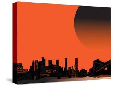 Nyc 1--Stretched Canvas Print