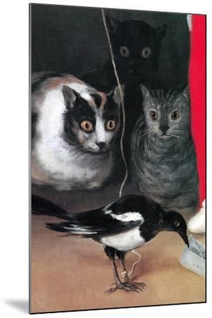 Bird Watching-Suzanne Valadon-Mounted Art Print