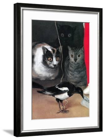Bird Watching-Suzanne Valadon-Framed Art Print