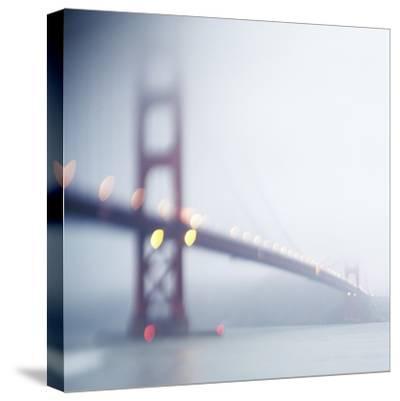 Golden Gate Bridge-Zeb Andrews-Stretched Canvas Print