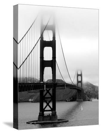 Golden Gate Bridge-Federica Gentile-Stretched Canvas Print