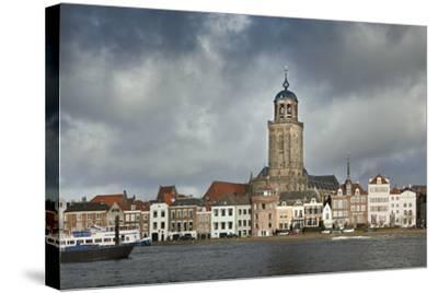 Netherlands, Deventer, City Skyline-Frans Lemmens-Stretched Canvas Print