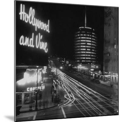 Hollywood and Vine--Mounted Premium Photographic Print