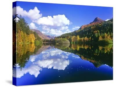 Glencoe Lochan, Scotland-Kathy Collins-Stretched Canvas Print