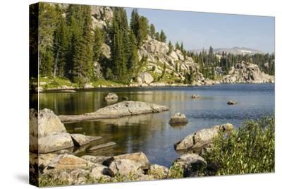 Beartooth Pass, Wyoming and Montana--Stretched Canvas Print