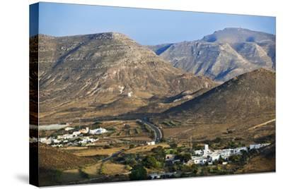 Volcanic Landscape in Cabo De Gata.-Gonzalo Azumendi-Stretched Canvas Print
