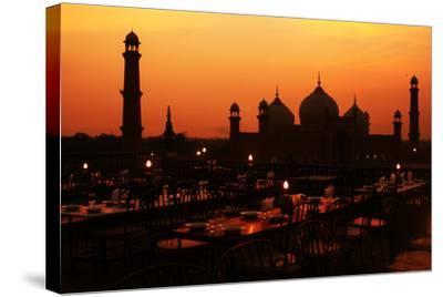 Badshahi Mosque-Srosh Anwar Photography-Stretched Canvas Print