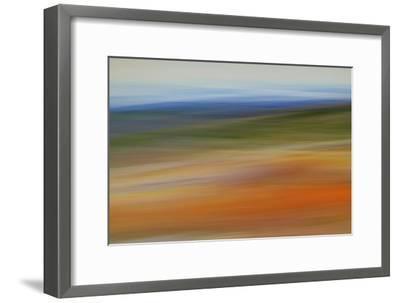 Moved Landscape 6490-Rica Belna-Framed Giclee Print