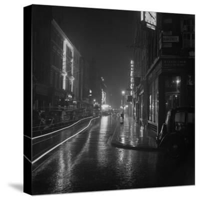 Soho by Night-BIPS-Stretched Canvas Print
