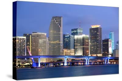 Miami, Florida-Jumper-Stretched Canvas Print