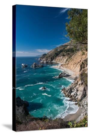 Cliff Coast-Norbert Kurzka - Photography-Stretched Canvas Print
