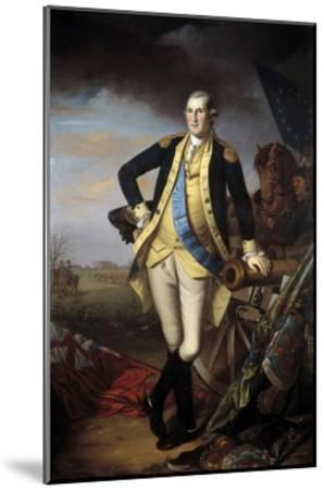 Full-Length Portrait of George Washington--Mounted Giclee Print