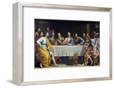 The Last Supper by Philippe De Champaigne--Framed Giclee Print