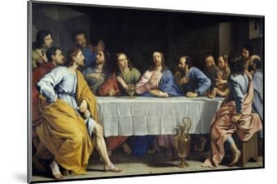 The Last Supper by Philippe De Champaigne--Mounted Giclee Print