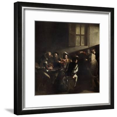 The Calling of St. Matthew by Caravaggio--Framed Giclee Print