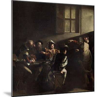 The Calling of St. Matthew by Caravaggio--Mounted Giclee Print