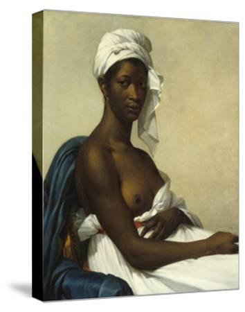 Portrait of a Negress by Marie Guilhelmine Benoist--Stretched Canvas Print
