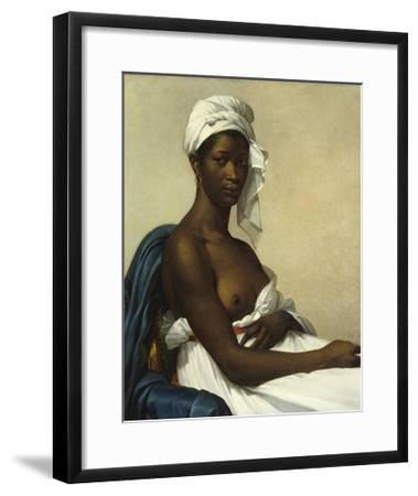 Portrait of a Negress by Marie Guilhelmine Benoist--Framed Giclee Print