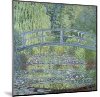 The Waterlily Pond: Green Harmony by Claude Monet--Mounted Giclee Print