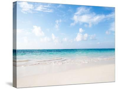 Dreams Beach-M Swiet Productions-Stretched Canvas Print