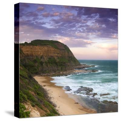 Bar Beach Headland-Image-Stretched Canvas Print