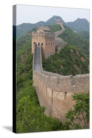 Great Wall, China-Uschools University Images-Stretched Canvas Print