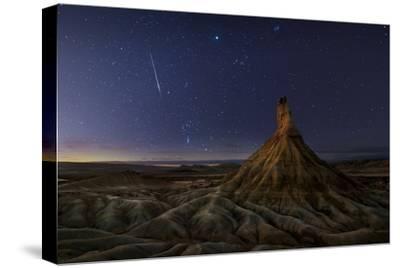 Castil after Sunset-Inigo Cia-Stretched Canvas Print