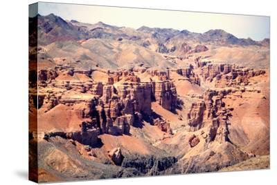 Charyn Canyon-taken by Richard Radford-Stretched Canvas Print