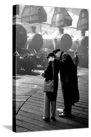 Train Depot-Thurston Hopkins-Stretched Canvas Print