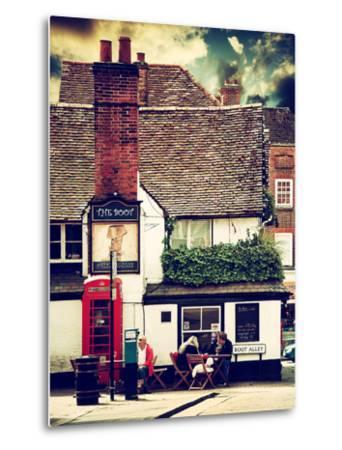 Boot Alley Sign - St Albans - The Boot Inn - London - UK - England - United Kingdom - Europe-Philippe Hugonnard-Metal Print