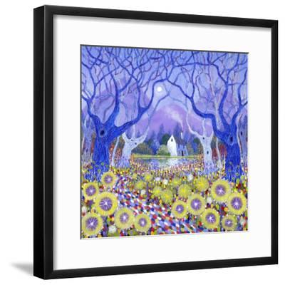 Wood Cottage, 2013-David Newton-Framed Giclee Print