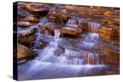 Cascades in Kalamina Gorge Picturesque Cascades--Stretched Canvas Print