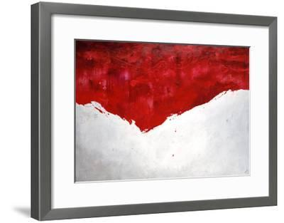 Interplay Rouge-Sydney Edmunds-Framed Giclee Print