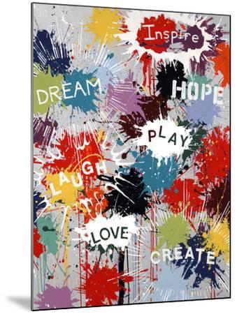 Pop of Inspiration-Sydney Edmunds-Mounted Giclee Print