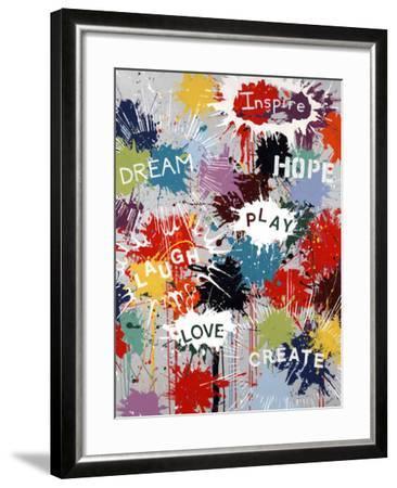 Pop of Inspiration-Sydney Edmunds-Framed Giclee Print