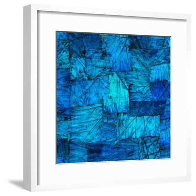 Tapestry in Blue-Doug Chinnery-Framed Photographic Print