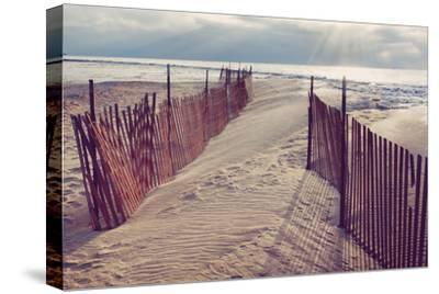 Lake Michigan Beach-Trina Dopp Photography-Stretched Canvas Print