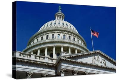Capitol Building, Washington, USA-Tim Graham-Stretched Canvas Print