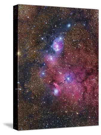 Ngc 6559 Emission and Reflection Nebulosity in Sagittarius--Stretched Canvas Print