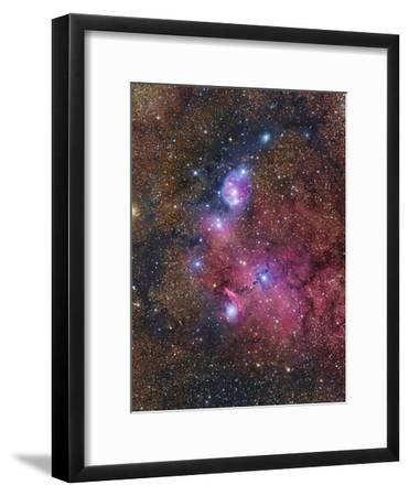 Ngc 6559 Emission and Reflection Nebulosity in Sagittarius--Framed Photographic Print