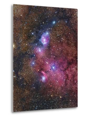 Ngc 6559 Emission and Reflection Nebulosity in Sagittarius--Metal Print